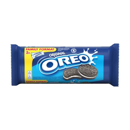 OREO Μπισκότα Γεμιστά με Κρέμα Βανίλια 2x154gr