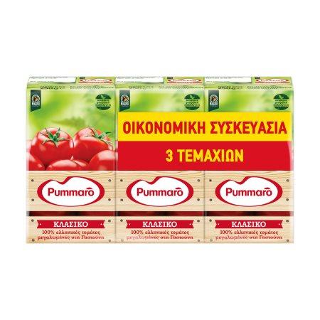 PUMMARO Τομάτα Πασσάτα Κλασική 3x250gr