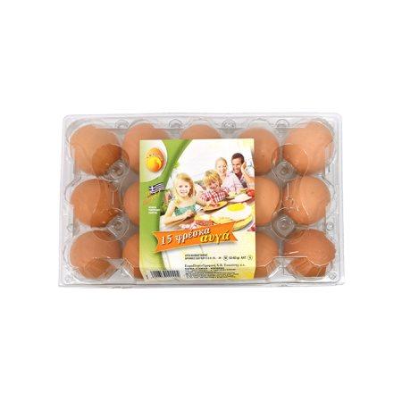 Αυγά ΤΣΑΟΥΣΗ Medium 15τεμ 53-63gr