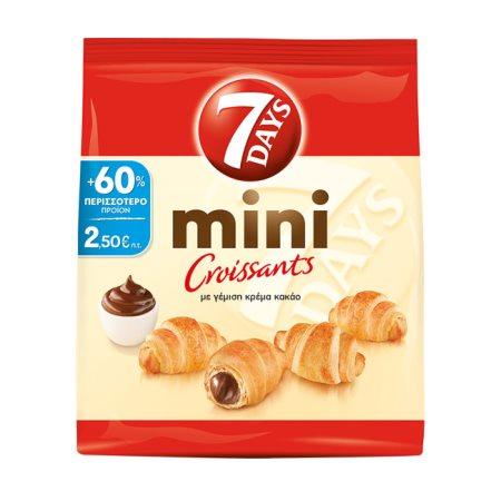 7DAYS Mini Κρουασάν Κρέμα Κακάο 185gr +60% Δώρο