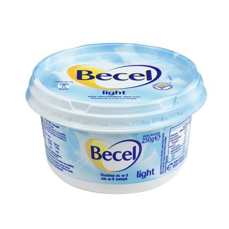 BECEL Μαργαρίνη Light 250gr