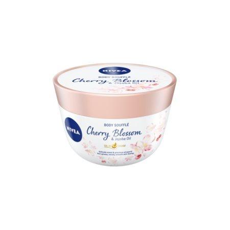 NIVEA Κρέμα Σώματος Body Souffle Cherry Blossom & Jojoba Oil 200ml
