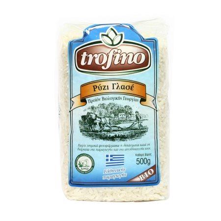 TROFINO Ρύζι Γλασέ Βιολογικό 500gr