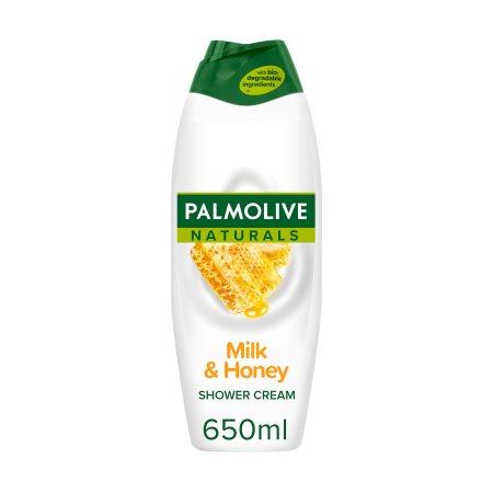 PALMOLIVE Naturals Αφρόλουτρο Milk & Honey 650ml