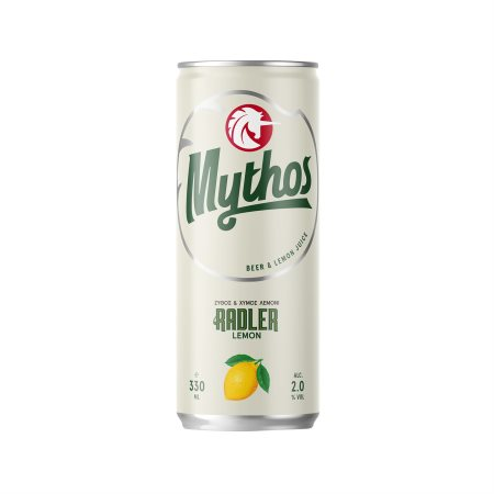 MYTHOS Radler Μπίρα με Λεμόνι 330ml