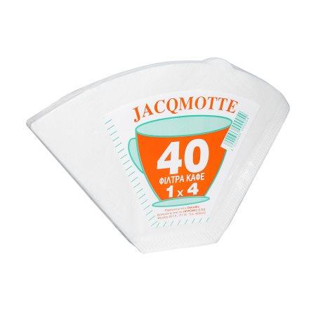 JACQMOTTE Φίλτρα Καφέ Νο1x4 40τεμ
