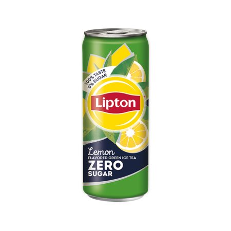 LIPTON Ice Tea Πράσινο τσάι Λεμόνι Χωρίς ζάχαρη 330ml