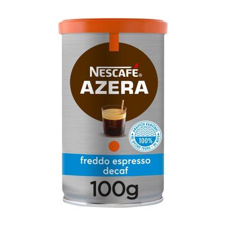 NESCAFE Azera Καφές Στιγμιαίος Freddo Espresso 100% Arabica Decaffeine 100gr