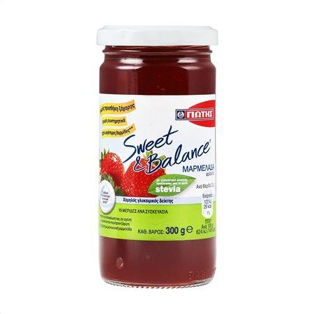 ΓΙΩΤΗΣ Sweet & Balance Μαρμελάδα Φράουλα Χωρίς ζάχαρη 300gr