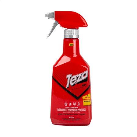 TEZA Mec Εντοκτόνο Σπρέι για Κατσαρίδες & Μυρμήγκια Άοσμο 400ml