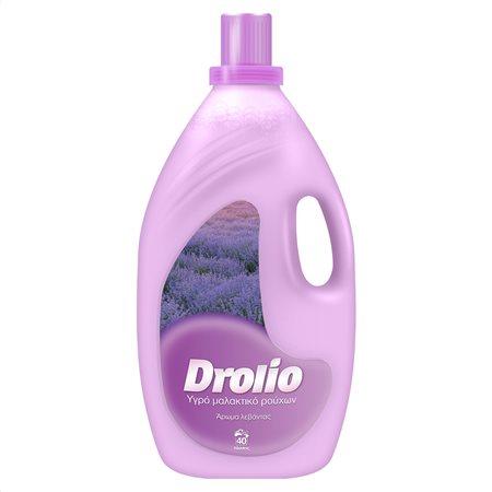 DROLIO Μαλακτικό Λεβάντα 40 πλύσεις