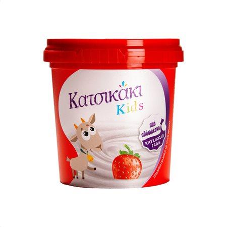 ΤΡΙΚΚΗ Κατσικάκι Kids Επιδόρπιο Γάλακτος Κατσικίσιο Φράουλα 140gr