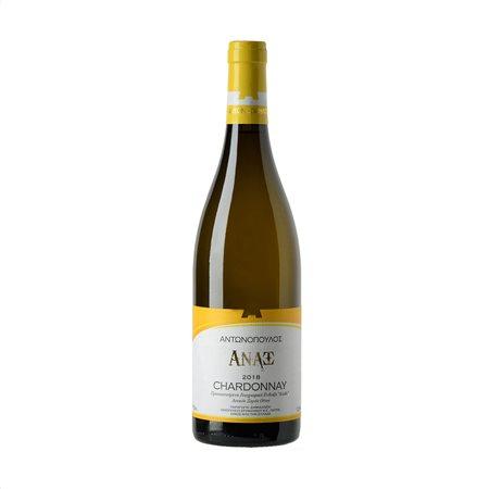 ΑΝΑΞ Αντωνοπούλου Λευκός Οίνος Chardonnay 750ml