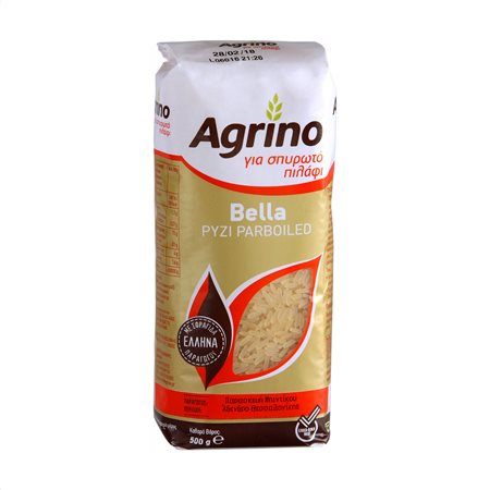 AGRINO Bella Ρύζι Parboiled 500gr